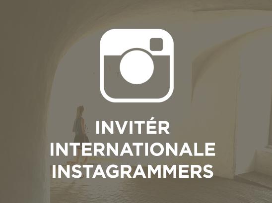Inviter internationale Instagrammers med stort reach
