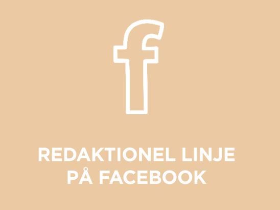 Redaktionel linje på Facebook