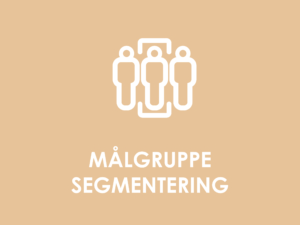 Målgruppe segmentering