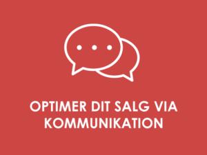 KOMMERCIELT POTENTIALE: Optimering af salg via kommunikation