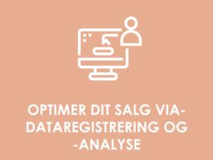 KOMMERCIELT POTENTIALE: Optimering af salg via dataregistrering & -analyse