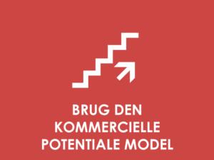 KOMMERCIELT POTENTIALE: Den kommercielle potentialemodel