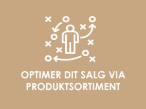 KOMMERICIELT POTENTIALE: Optimering af salget via produktsortiment