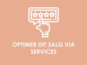 KOMMERCIELT POTENTIALE: Optimering af salg via services & andre ydelser